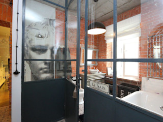 livinghome wnętrza Katarzyna Sybilska Ванная в стиле лофт