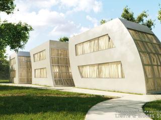 Modular Houses Lights & Shades Studios Rumah Gaya Industrial
