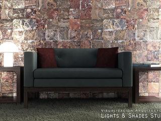 Hall Lights & Shades Studios Ruang Keluarga Modern