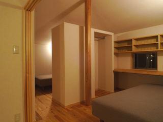小さな平屋の家 FAD建築事務所 モダンデザインの 子供部屋