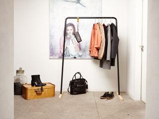 Die stabile Kleiderstange oder Garderobe aus Metall und Holz Neuvonfrisch - Möbel und Accessoires Flur, Diele & TreppenhausKleiderständer und Garderoben