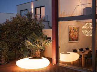 Degardo GmbH Garden Plant pots & vases Synthetic Transparent