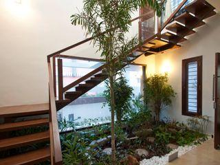 Muraliarchitects Couloir, entrée, escaliers modernes