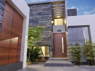 Chazarreta-Tohus-Almendra Modern houses