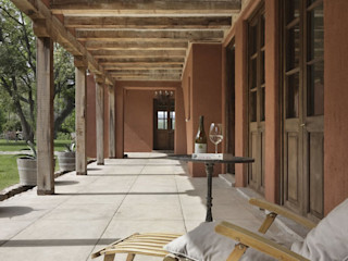 Bórmida & Yanzón arquitectos 鄉村風格的走廊,走廊和樓梯