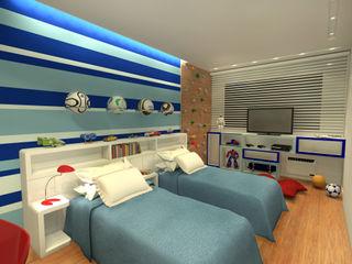 Konverto Interiores + Arquitetura Dormitorios infantiles de estilo moderno
