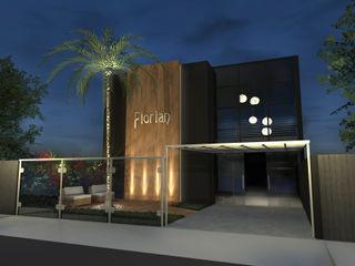 Konverto Interiores + Arquitetura Salones de eventos de estilo moderno
