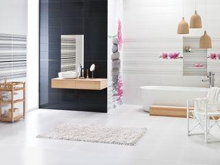 Ceramika Paradyż Asian style bathroom