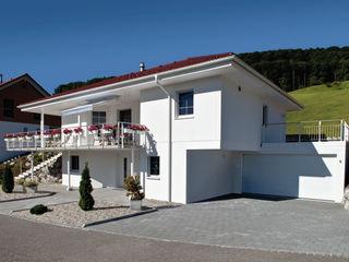 ELK Kundenhaus ELK Fertighaus GmbH Bungalow Weiß