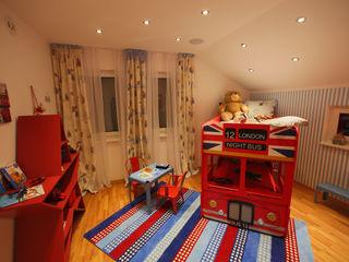 ELK Fertighaus GmbH Habitaciones para niños de estilo moderno