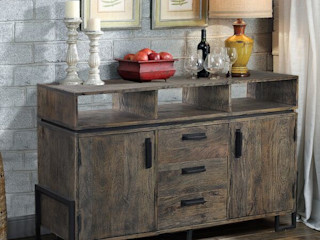 The Yellow Door Store Dining roomDressers & sideboards Solid Wood Grey