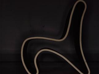 Curved (ch)air Nick Ronde Ontwerpen Multimedia ruimteMeubels
