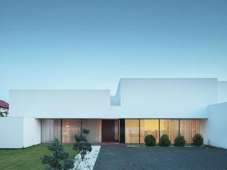 Dom na linii horyzontu KMA Kabarowski MIsiura Architekci Nowoczesne domy