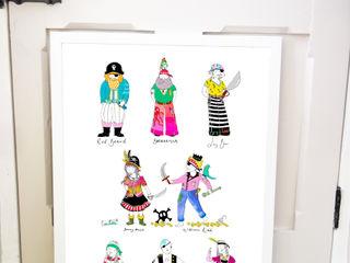 Art Prints and Posters Sas and Yosh Дитяча кімнатаАксесуари та прикраси