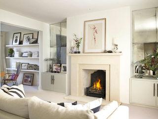 Richmond Place, London Concept Interior Design & Decoration Ltd 客廳