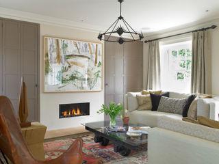 Manor Farm, Oxfordshire Concept Interior Design & Decoration Ltd 客廳