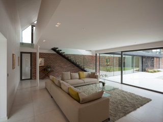 Private House, Cardiff LOYN+CO ARCHITECTS Salon moderne