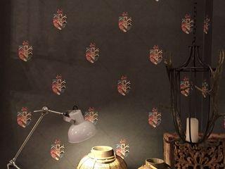 Vicente Galve Studio Ruang Keluarga Gaya Rustic