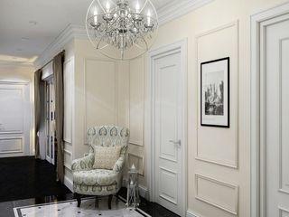 Massimos / cтудия дизайна интерьера Hành lang, sảnh & cầu thang phong cách kinh điển