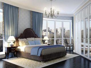 Massimos / cтудия дизайна интерьера Phòng ngủ phong cách kinh điển
