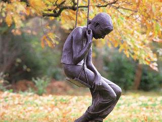 Girl on Swing Vanessa Marston ArtworkSculptures