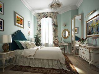 Альбина Романова Eclectic style bedroom