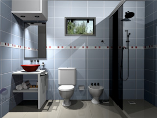 Muebles del angel Modern bathroom