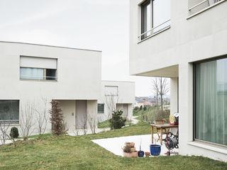 SAS . Neubau Drei Appartementhäuser . Stetten . SH idA buehrer wuest architekten sia ag Moderne Häuser