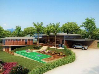 SESSO & DALANEZI Moderne Häuser