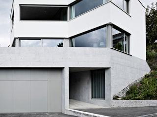 OLH . Neubau Einfamilienhaus . Oberlunkhofen . AG idA buehrer wuest architekten sia ag Moderne Häuser