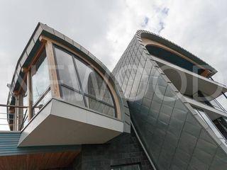 NEWOOD - Современные деревянные дома Casas de estilo ecléctico