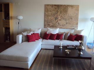 GUTMAN+LEHRER ARQUITECTAS 现代客厅設計點子、靈感 & 圖片