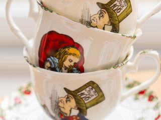 Alice In Wonderland Bone China Homewares The Tea Party Range The Alice Boutique Dining roomCrockery & glassware