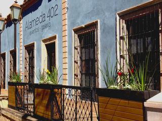 Taller Habitat Arquitectos Salones de eventos de estilo colonial