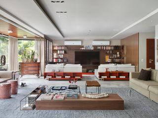 Yamagata Arquitetura Sala multimediale moderna
