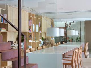 Yamagata Arquitetura Sala da pranzo moderna