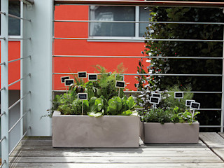 Hydroponika - Wnętrz i zieleń Balconies, verandas & terraces Accessories & decoration