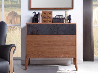 Chest of drawers Dream oak amber Swarzędz Home 침실옷장 & 벽장
