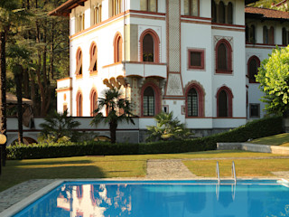 villa sul lago isabella maruti architetto Giardino classico