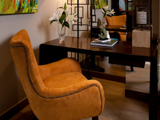 UNUO Interiorismo オリジナルデザインの 書斎