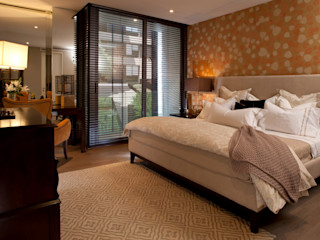 UNUO Interiorismo オリジナルスタイルの 寝室