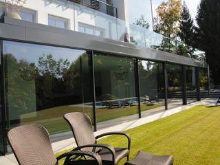 Schwimmhalle in Königstein Metallbau Beilmann GmbH Minimalistische Fenster & Türen