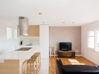 LF24 Arquitectura Interiorismo Cuisine moderne Blanc