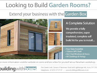Building with Boxes Building With Frames Minimalist garage/shed Wood