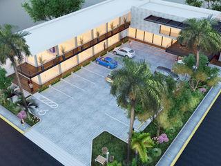ANGOLO-grado arquitectónico Jardines de estilo moderno Multicolor