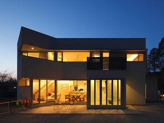 一級建築士事務所アトリエm Maisons modernes Blanc