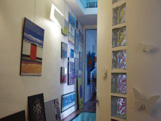 TOURS CENTRE Christèle BRIER Architechniques Couloir, entrée, escaliers modernes