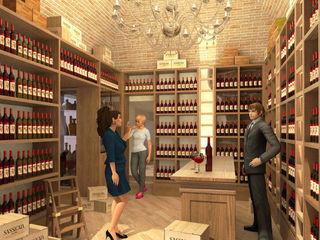 Enoteca Mazzini Assisi - Mazzini wine shop Assisi Planet G Negozi & Locali commerciali in stile classico