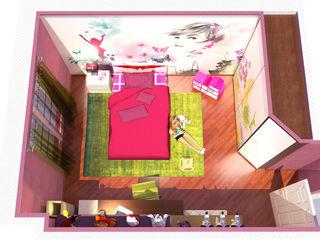 Camera per bambina - Girl's room Planet G Camera da lettoAccessori & Decorazioni