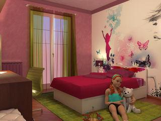Camera per bambina - Girl's room Planet G Camera da lettoLetti e testate
